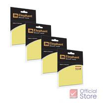 Elephant ตราช้าง กระดาษโน๊ตกาวในตัว สีเหลือง