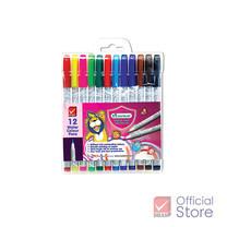 Master Art มาสเตอร์อาร์ต ปากกาสีเมจิก 12 สี