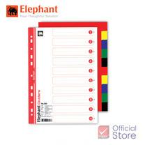 Elephant ตราช้าง อินเด็กซ์แบ่งตามหัวข้อด้วยสี #320