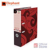 Elephant ตราช้าง แฟ้มสันกว้าง 120F แดง