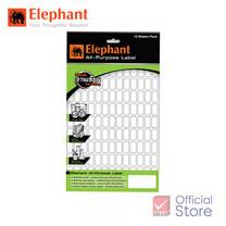 Elephant ตราช้าง แล็บสติ๊กเกอร์ เบอร์ A5 13X38