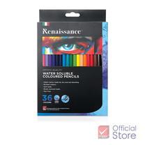Renaissance เรนาซองซ์ ดินสอสี ระบายน้ำ 36 สี