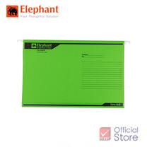 Elephant ตราช้าง แฟ้มแขวน 925 เขียว แพ็ก 10 เล่ม