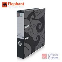Elephant ตราช้าง แฟ้มสันแคบ 125A4 ดำ