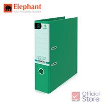 Elephant ตราช้าง แฟ้มสันกว้าง 2100F4 เขียว