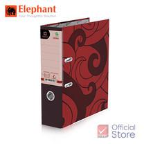 Elephant ตราช้าง แฟ้มสันกว้าง 120A4 แดง