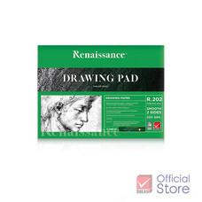 Renaissance เรนาซองซ์ กระดาษวาดเขียน แพดซี R202 ชนิดเรียบ
