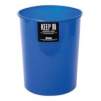 KEEP IN ถังขยะกลมไม่มีฝา สแตนดาร์ด RW9072 (5 ล.) สีน้ำเงิน