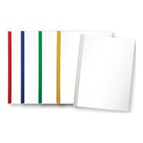 แฟ้มสันรูด ออร์ก้า 5 มิลลิเมตร คละสีทึบ (แพ็ค 12 เล่ม)