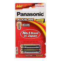 ถ่านอัลคาไลน์ พานาโซนิค LR03T/2B AAA (2 ก้อน/แพ็ก)