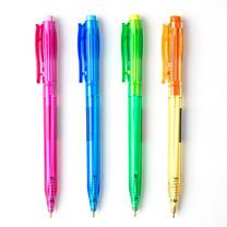 ปากกาเจลโล่พลัส ควอนตั้ม เรนโบว์ 007 0.7 มม. สีน้ำเงิน