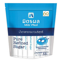 น้ำตาลทรายมิตรผล ชนิดซองยาว 300 กรัม (6 กรัม x 50 ซอง)