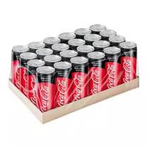 เครื่องดื่ม Coke Zero Can 325 ml. (แพ็ค 24 กระป๋อง)