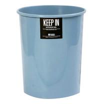 KEEP IN ถังขยะกลมไม่มีฝา สแตนดาร์ด RW9073 (8 ล.) สีฟ้า