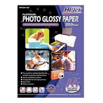 กระดาษอิงค์เจ็ทโฟโต้ HI-JET NP204-100 200g A4(แพ็ค 100 แผ่น)