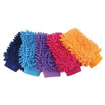 ถุงมือไมโครไฟเบอร์ (คละสี)
