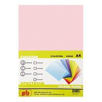 กระดาษสีถ่ายเอกสาร สเปคตรัม No.17 80/500 A4 สีชมพูกุหลาบ