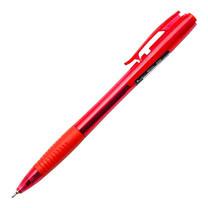 ปากกาลูกลื่น ควอนตั้ม สเก็ต 555 0.5 มม. แดง