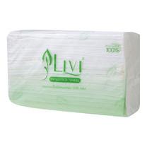 Livi 300 กระดาษเช็ดมือ 1 ชั้น (300 แผ่น/แพ็ก)