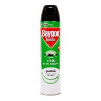 สเปร์ยฉีดกันยุงไบกอน สีเขียว ไร้กลิ่น 600 มล.