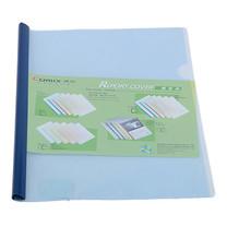 แฟ้มโชว์เอกสารสันรูด โคมิค Q310 สันหนา 5 มม. A4 สีน้ำเงิน(แพ็ค 6 เล่ม)