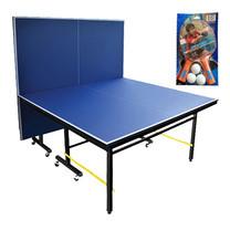 โต๊ะเทเบิลเทนนิส พร้อมไม้เทเบิลเทนนิส 1 คู่ Dragonfly 20 มม.