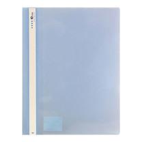 แฟ้มเจาะพลาสติก E-file 51A A4 สีน้ำเงิน