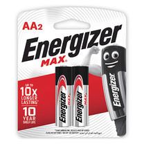 ถ่านอัลคาไลน์ ENERGIZER แม็กซ์ E91-BP2 AA(แพ็ค 2 ก้อน)