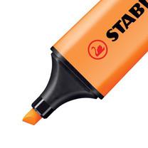 ปากกาเน้นข้อความ สตาบิโลบอส สีส้ม