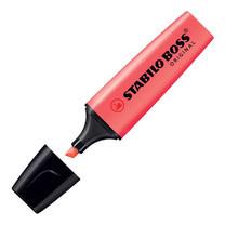 ปากกาเน้นข้อความ สตาบิโลบอส สีแดง
