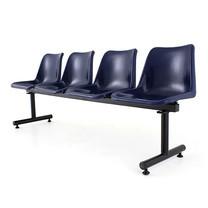 เก้าอี้พักคอย 4 ที่นั่ง APEX ALF-814 สีน้ำเงิน