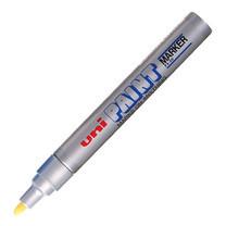 ปากกาเพ้นท์ ยูนิ รุ่น PX-20 สีเงิน