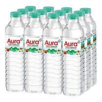 น้ำแร่ออร่า 500 มล. (แพ็ค 12 ขวด)