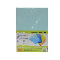 กระดาษสีถ่ายเอกสาร สเปคตรัม No.12 80/100 A4 ฟ้าน้ำทะเล