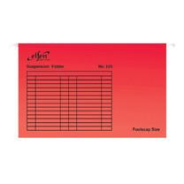 แฟ้มแขวน เอลเฟ่น 525 F4 สีแดง (แพ็ค 10 เล่ม)