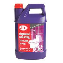 ARO น้ำยาล้างห้องน้ำ สูตรขจัดคราบฝังแน่นและคราบทั่วไป สีม่วง ขนาด 3,500 มล.
