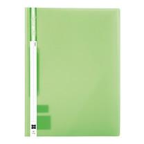 แฟ้มเจาะพลาสติก XING No.1114 A4 สัน 1 ซม. สีเขียว