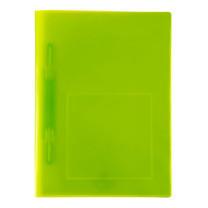 แฟ้มเจาะพลาสติก ฟลามิงโก้ 952A A4 เขียว