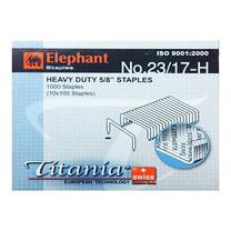 ลวดเย็บกระดาษ ตราช้าง Titania23/17-H1000 ลวด