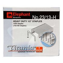 ลวดเย็บกระดาษ ตราช้าง Titania23/13-H 1000 ลวด