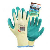 ถุงมือคอตตอนเคลือบยางธรรมชาติ YAMADA 9042 9 นิ้ว สีเขียว