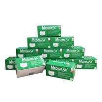 หน้ากากอนามัย 3 ชั้น MEDIMASK สีเขียว (กล่อง 50 ชิ้น)