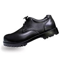 รองเท้าเซฟตี้หุ้มส้น หนัง PVC แบบผูกเชือก A-TAP รุ่น V-01 Size 42 สีดำ