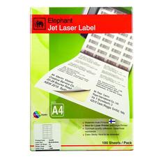 ป้ายสติกเกอร์ ช้าง Jet Laser#18-035 85x40มม.1,400 ป้าย(กล่อง 100 แผ่น)