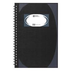 สมุดบันทึกมุมมันสันห่วง ตราช้าง WHC-401 สีดำ