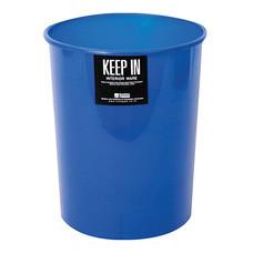 ถังขยะกลมไม่มีฝา สแตนดาร์ด RW9072 (5 ลิตร) สีน้ำเงิน