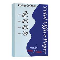 กระดาษสีถ่ายเอกสาร ฟลายอิ้ง No.08 80/500 A4 สีฟ้า