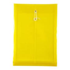 ซองพลาสติกขยายข้าง Orca F4 สีเหลือง
