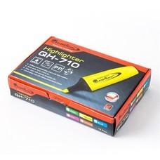 ปากกาเน้นข้อความ ควอนตั้ม QH-710 เหลือง(1x12)
