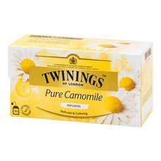 ชาอังกฤษ 1 กรัม (กล่อง25ซอง) ทไวนิงส์ Pure Flower Camomile